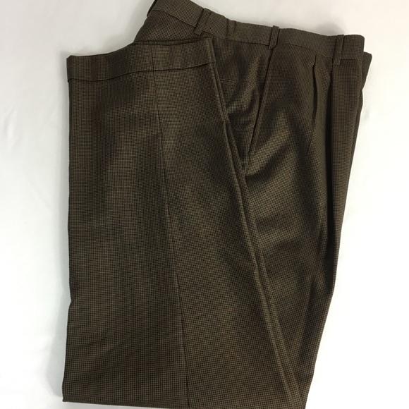 Austin Reed Pants Austin Reed Mens Dark Brown Dress Pants Poshmark